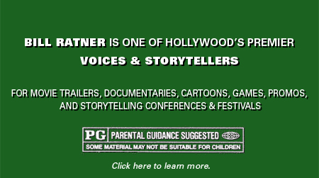 Bill Ratner: Voices and Storyteller